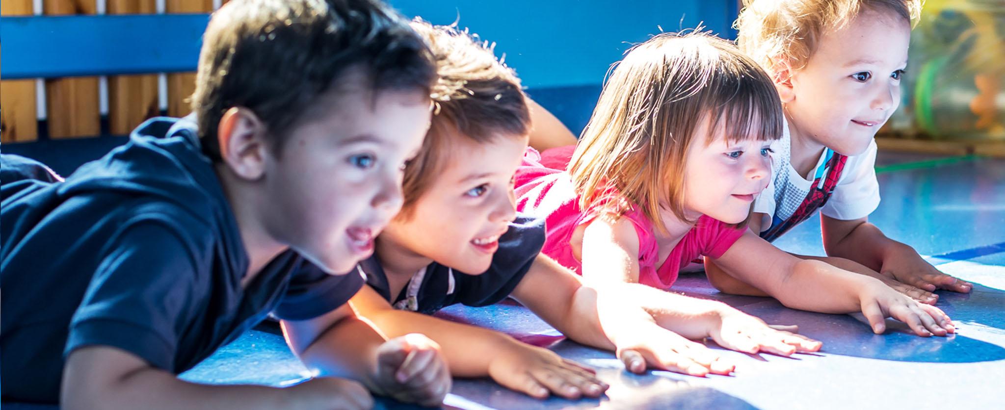 Rete educativa GEIS - Attività di gioco a terra